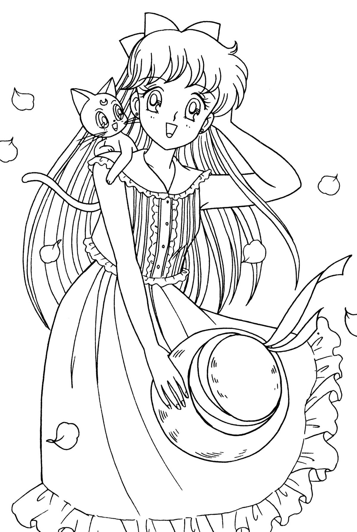 venus085.jpg (1200×1784) | COLORING PAGES :) | Pinterest | Colorear ...