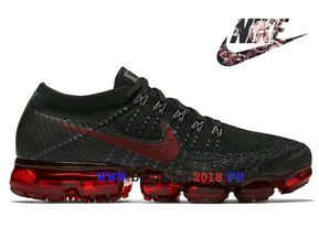 hot sale online c1bdc 18f8c Nike Air VaporMax Flyknit Pas Cher Prix Asphalt Chaussures Homme Bred 849558 -013-Nike