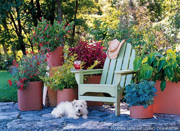 Martha Stewart Garden Club Container Gardening Outdoor Living Outdoor