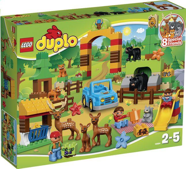 100% origineel nog een kans popul Kom het dierenpark (10584) van LEGO DUPLO ontdekken en leer ...