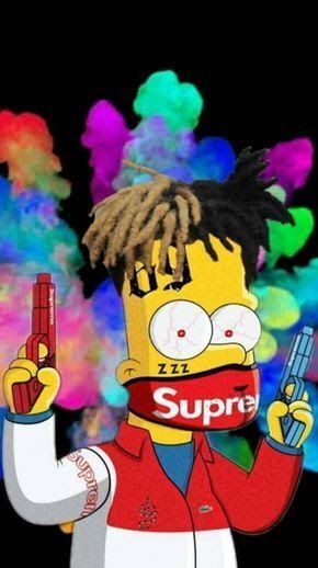 Best Of Bart Simpson Xxtentacion Xxtenations Cartoon Wallpaper images