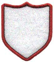 Badge Applique, shield 4. Badge or border element to use stand-alone or as accents to other designs or monograms.
