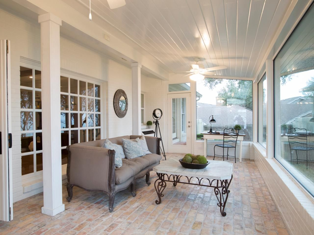 creating french country in the texas suburbs brick pavers joanna gaines and french cottage. Black Bedroom Furniture Sets. Home Design Ideas