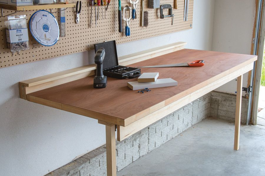 No Shop Is Complete Without A Workbench But Not Everyone