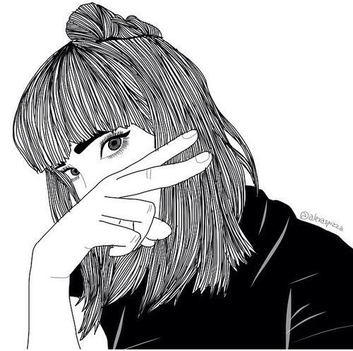 Roblox Girl Drawing Outline Pin Su Hey