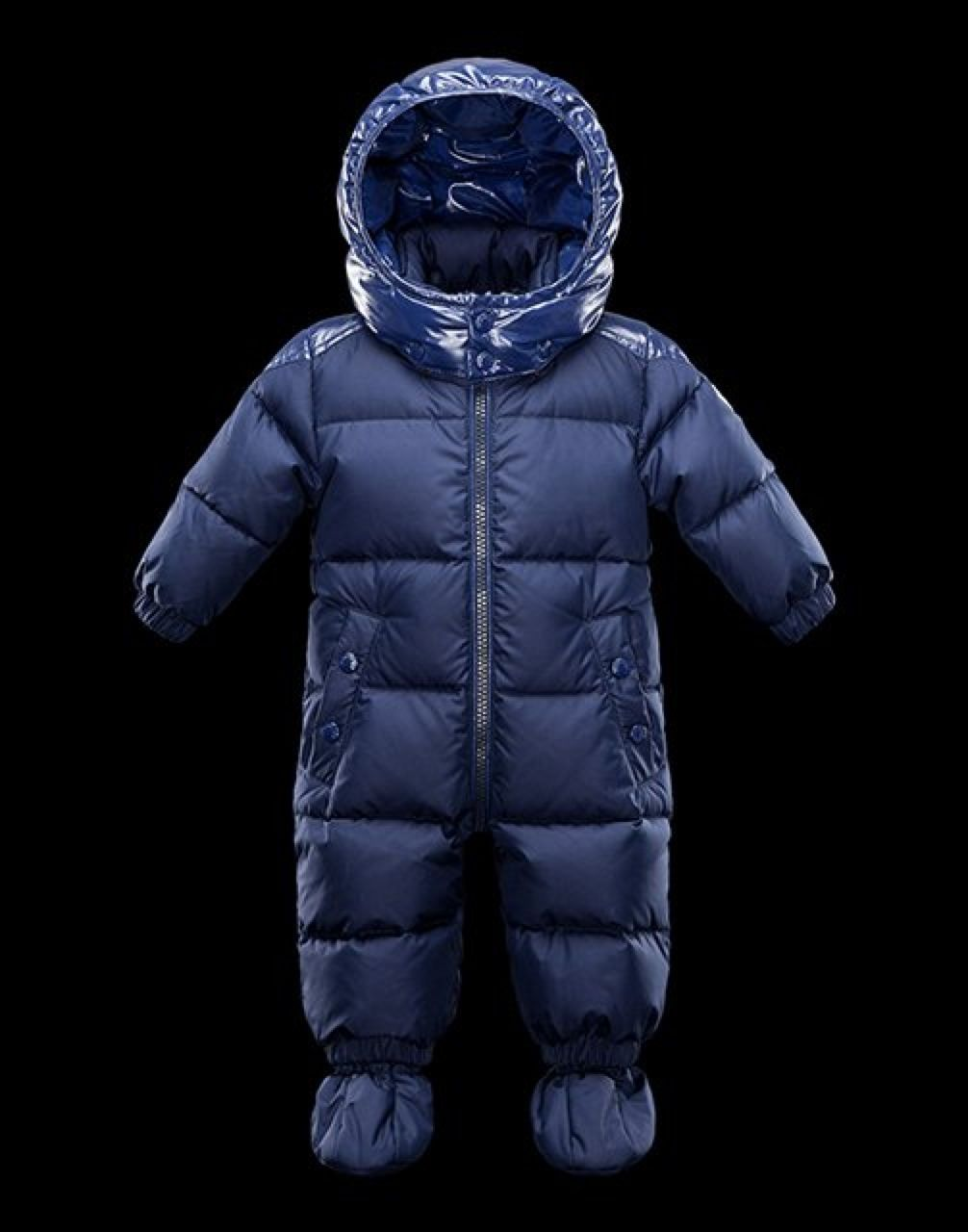 Infant Poney Snow Suit by Moncler. Clothing Kids Children Suit Winter Snow Fashion Couture Product