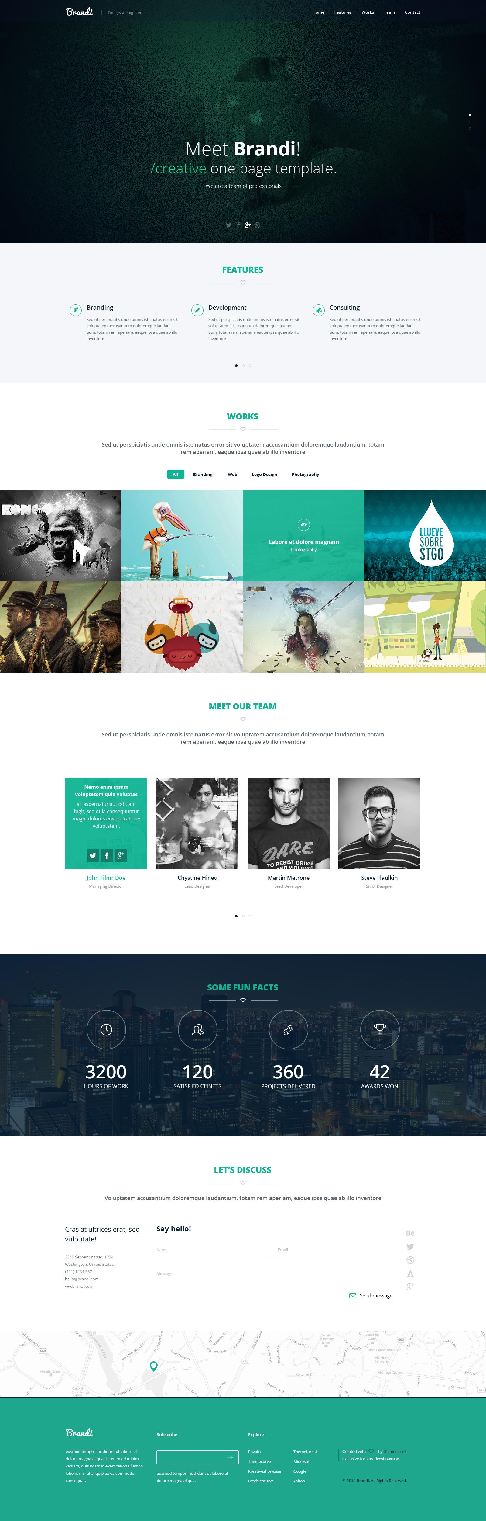 plantilla-psd-una-pagina | Plantillas web | Pinterest | Plantas ...