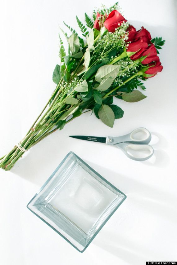 read this before you plop your v-day flowers into any old vase, Ideas