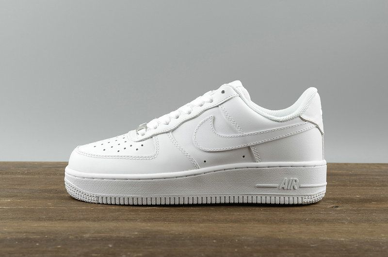 on sale f90c1 0e27f WMNS Nike Air Force 1 07 Low Prm AF1 All White 315115-112
