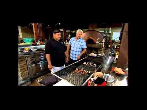 Guy Fieri Mediterranean Surf Turf Backyard Kitchen Guy Fieri Outdoor Kitchen