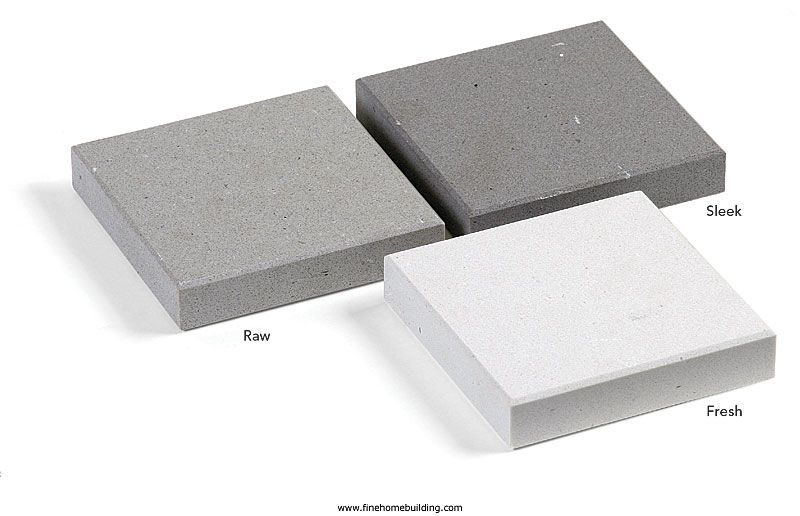 Caesarstone Fresh Concrete Raw Concrete Sleek Concrete Quartz