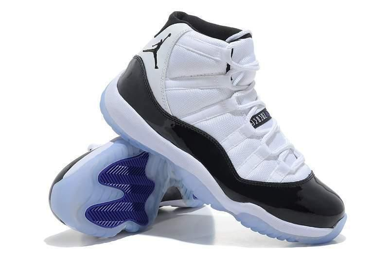 4916eac2c1c221 Fast Shipping Nike Air Jordan 11 Low Retro Chronology Black Whit ...