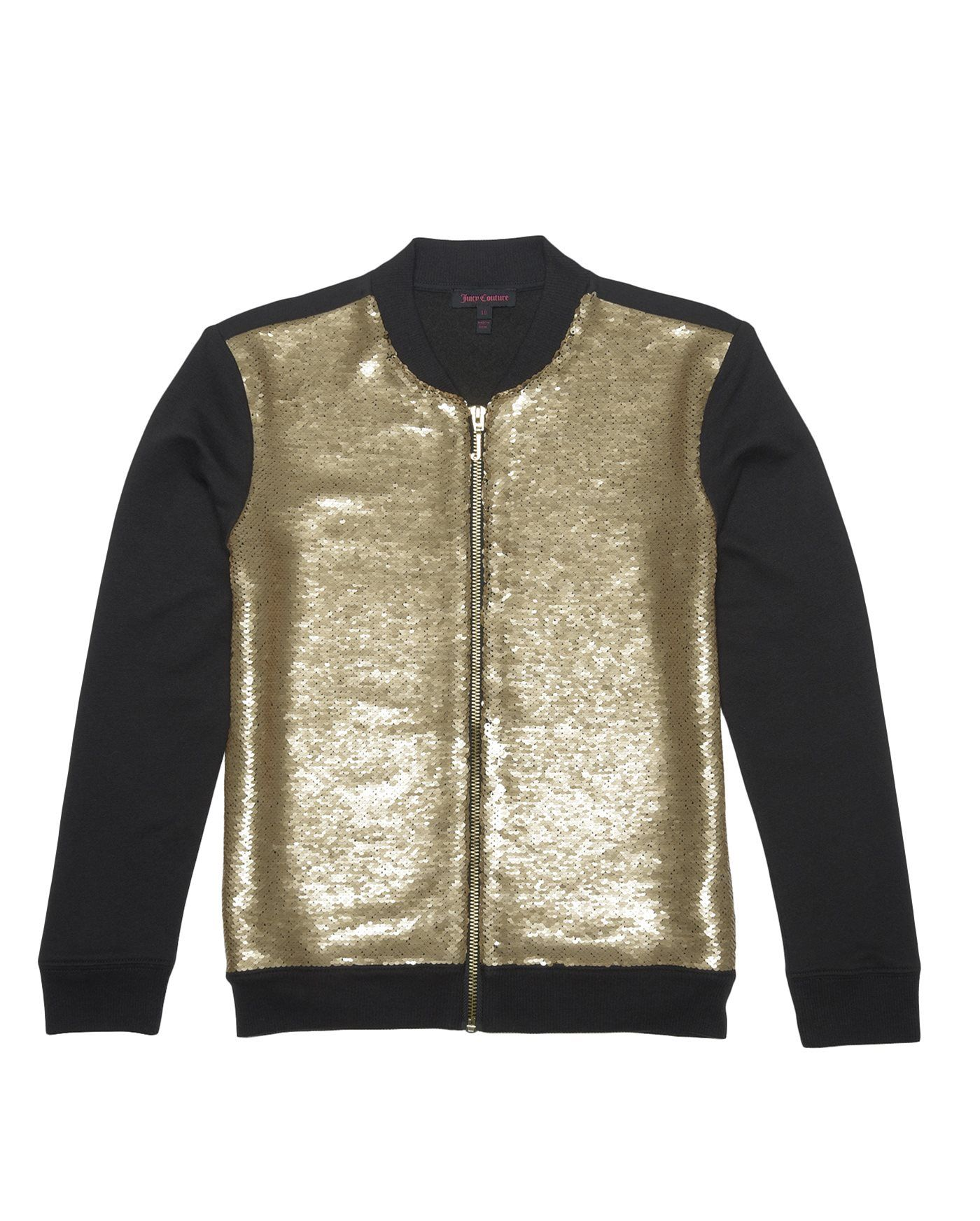 Sequin Bomber Jacket | Juicy Couture