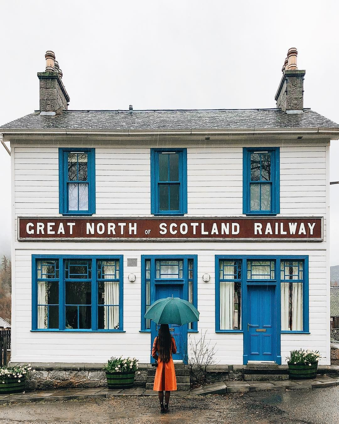 Olga London Travel On Instagram The Great North Of Scotland Railway Station Was Built In 19th Century It Was In Great North London Travel North Scotland