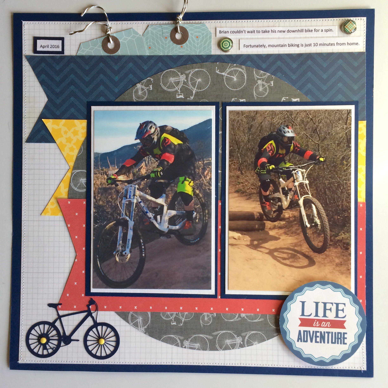 Scrapbook ideas adventure - Life Is An Adventure Scrapbook Com