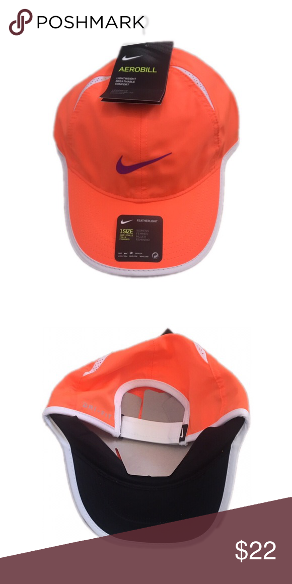 eff87a9df59 Nike Women s Featherlight Adjustable Hat Cap Brand new with tags officially  licensed Nike Women s Adjustable Hat Nike Accessories Hats