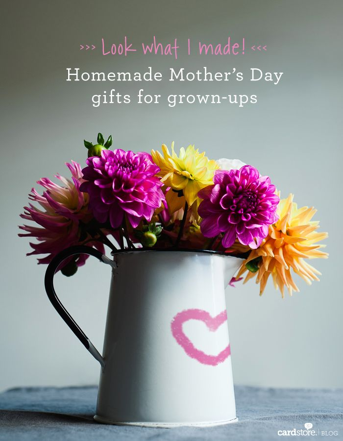 Look what I made! Homemade Mother's Day gifts for grown-ups   Cardstore Blog