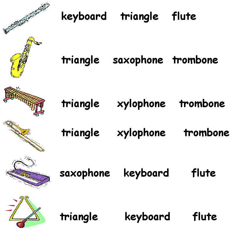 Musical Instruments Pictures Names Names Of Musical Instruments