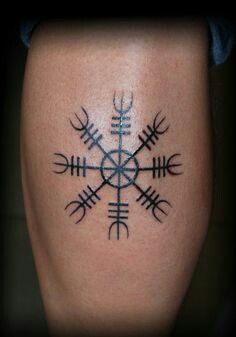 Protection Tattoo Rune Tattoo Norse Tattoo Viking Rune Tattoo