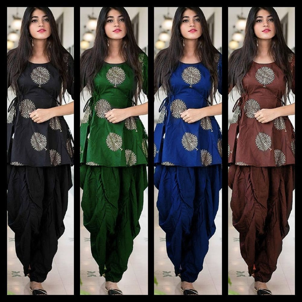 Details about koti dhoti full sttiched cotton indian pakistani