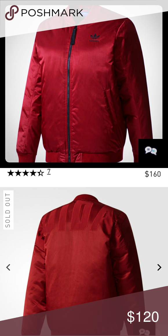350685c29e Adidas Mid Bomber Padded Jacket -PRODUCT CODE  BQ7452 -Color  Collegiate  Burgundy -