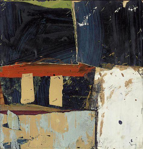 Alfred Leslie, Untitled, collage