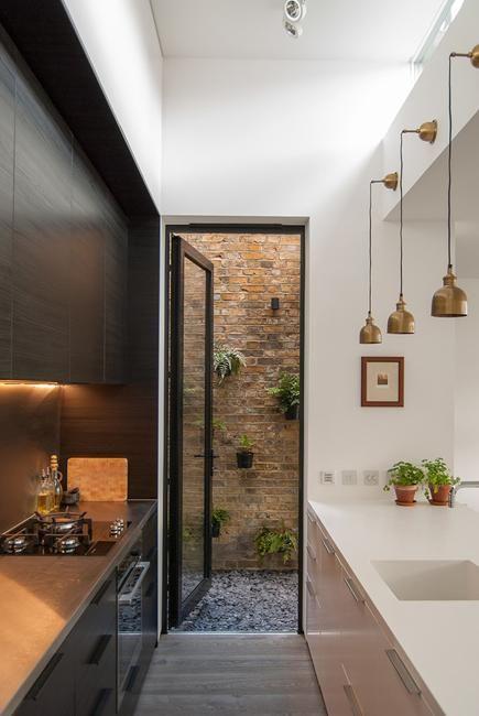 Modern Kitchen Design Ideas Galley Kitchens Maximizing Small