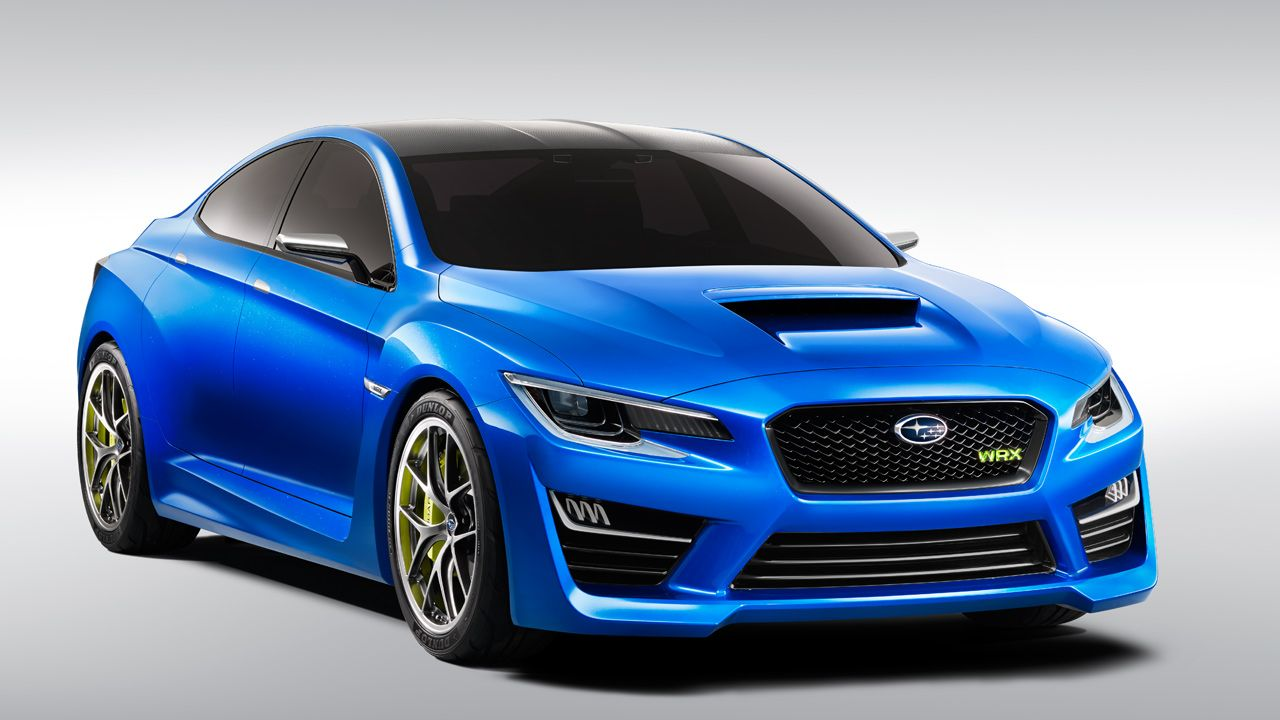 The subaru wrx concept is ready to steal the show