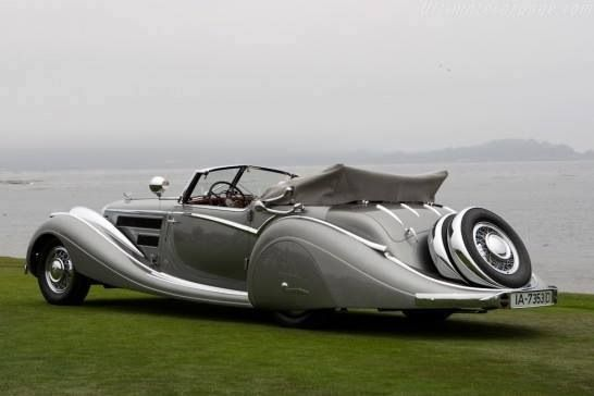 1937 Horch 853 Voll & Ruhrbeck Sports Cabriolet