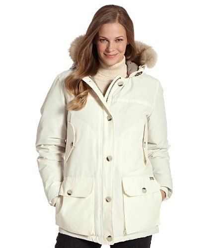 Woolrich Womens Arctic Parka Large Ecru Want Additional Info Click On The Image Note Amazon Affiliate Link Arctic Parka Woolrich Woolrich Women