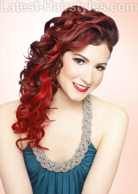 14 Breath Taking Curly Hairstyles For Winter 2021 Pretty Designs Curly Hair Styles Hair Styles Shades Of Red Hair