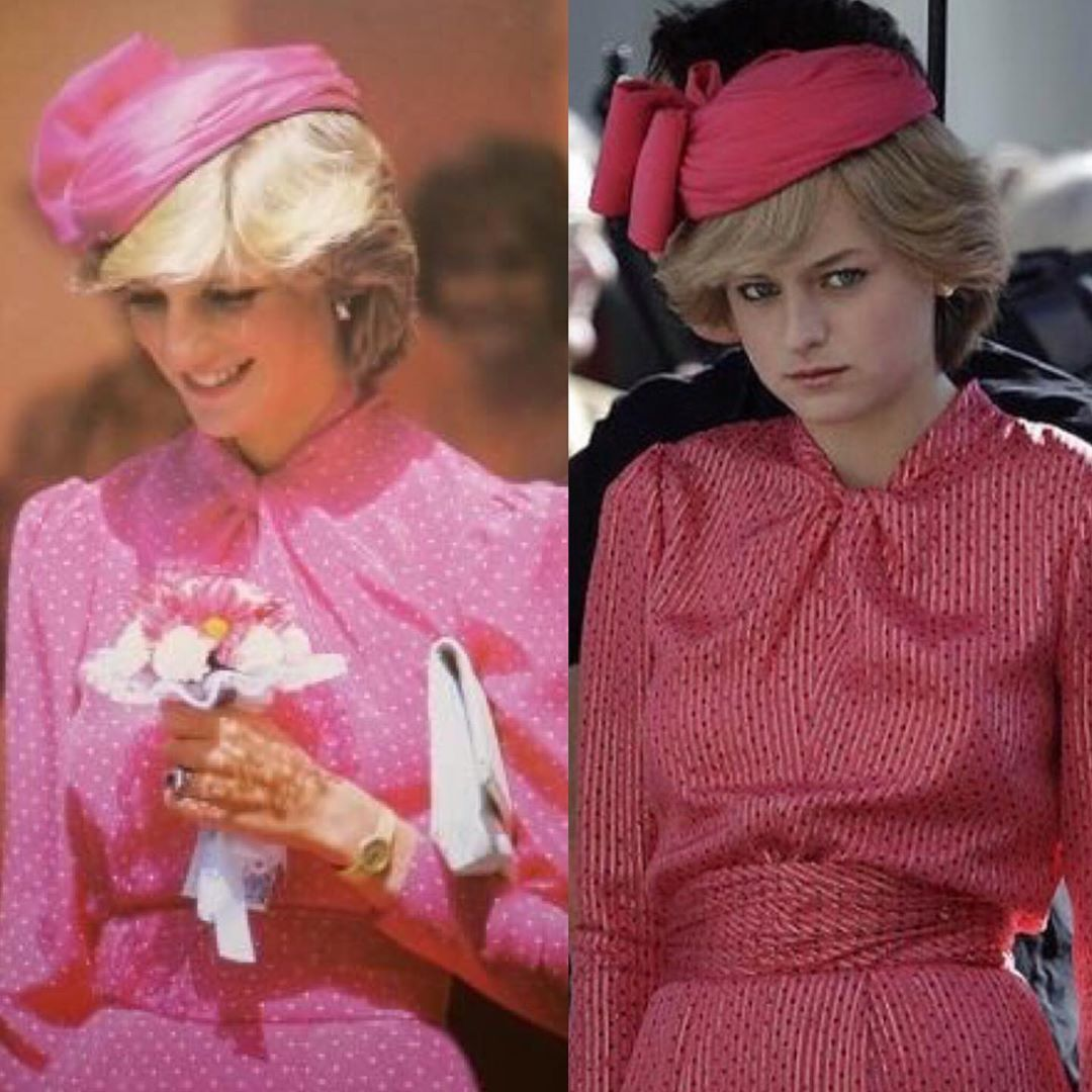 The actress playing Princess Diana in The Crown season 3