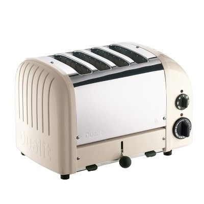 dualit four slice new gen toaster clay small appliances