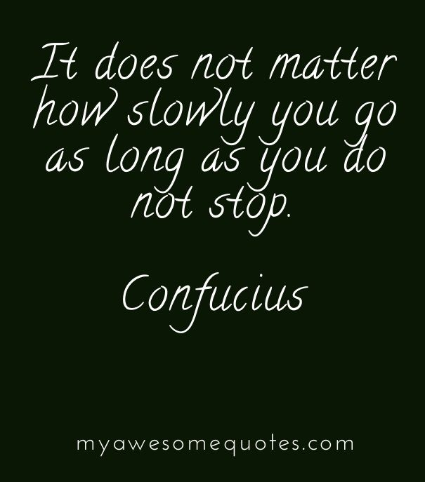Perserverance Motivational Quote: Confucius Quote About Perseverance