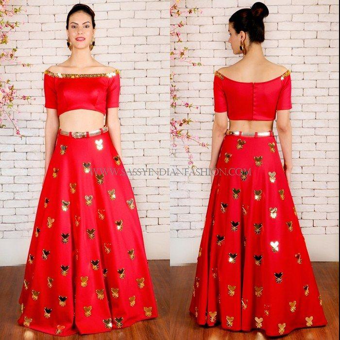 374c47a0a7 9 Chic Lehenga Designs for Engagement | Beautiful Bridal | Lehenga ...