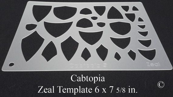 Template Zeal...Cabochon, Lapidary, Jewelry | Stencil temples ...