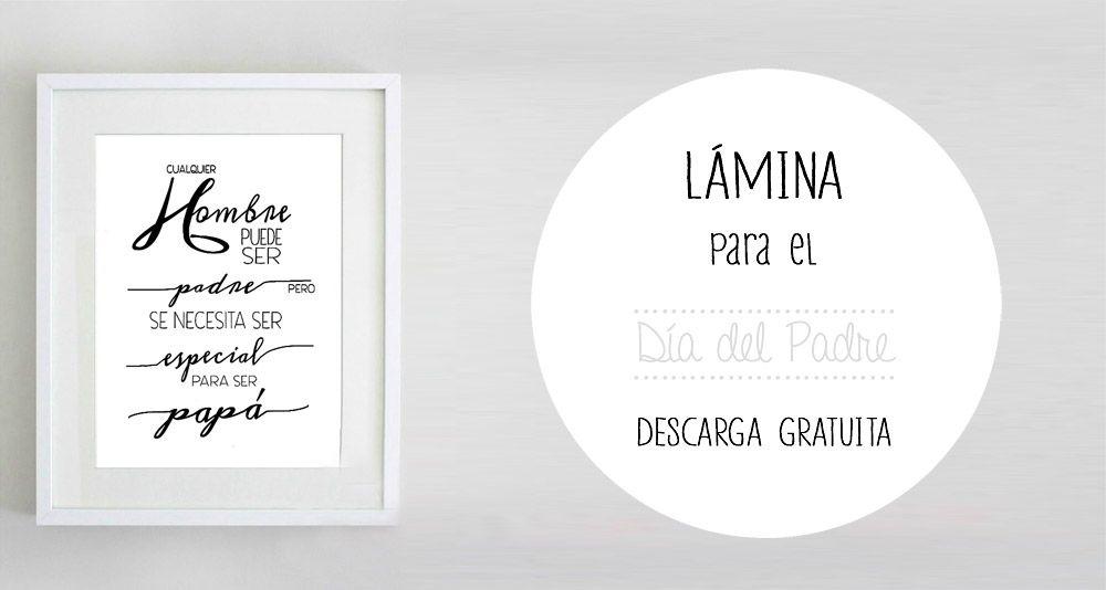 lamina-dia-del-padre-00-a-perfect-little-life | emprender | Pinterest