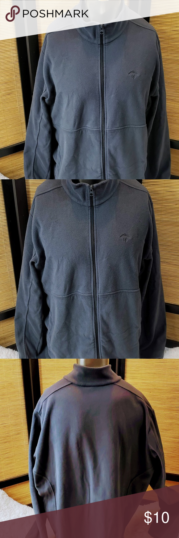 "d09e32a0 Urban Frontier Microfleece Sweatshirt Size XL Urban Frontier Microfleece  Sweatshirt Size XL Full Zip Front Pockets 100% Polyester Length: 27"" Sleeve:  26.5"" ..."