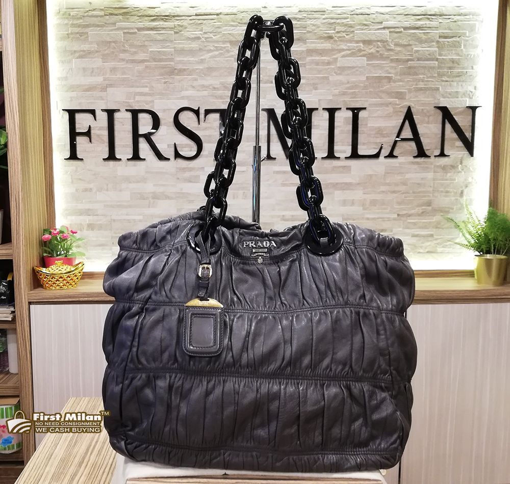 aed1627d60d581 ... no minimum price bb1b9 99d6a; where to buy prada nappa gaufre leather tote  bag. price rm1680 daf4f f0925