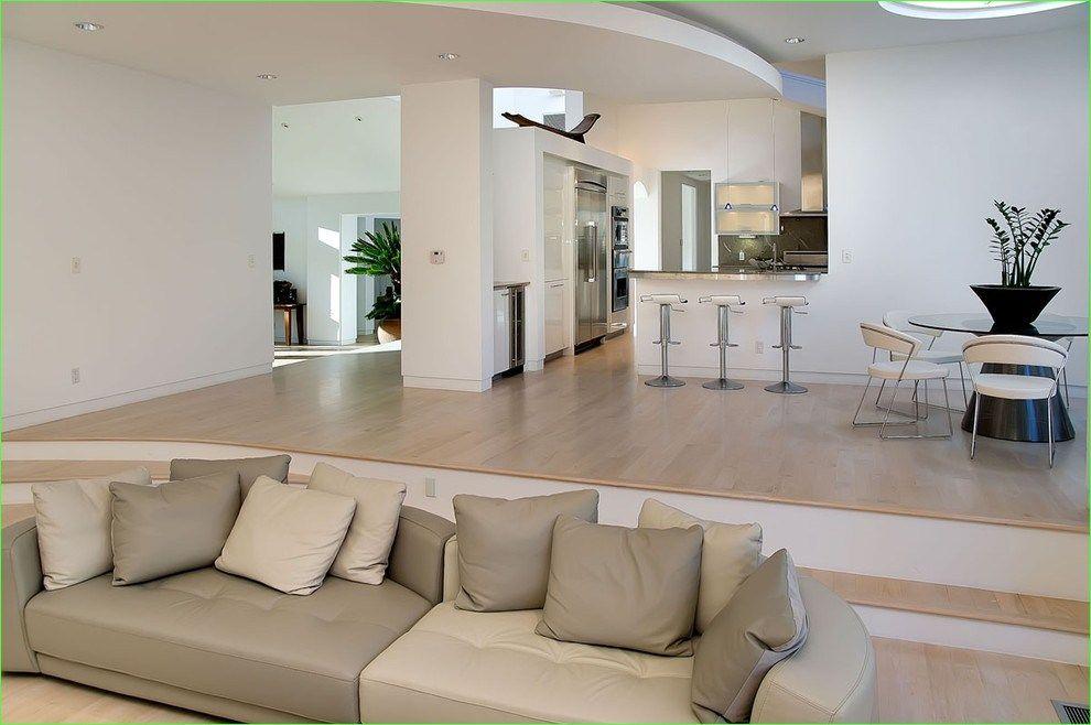 48 fresh modern splitlevel living room design  daily