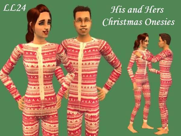 luckylibran24's Christmas Onesies