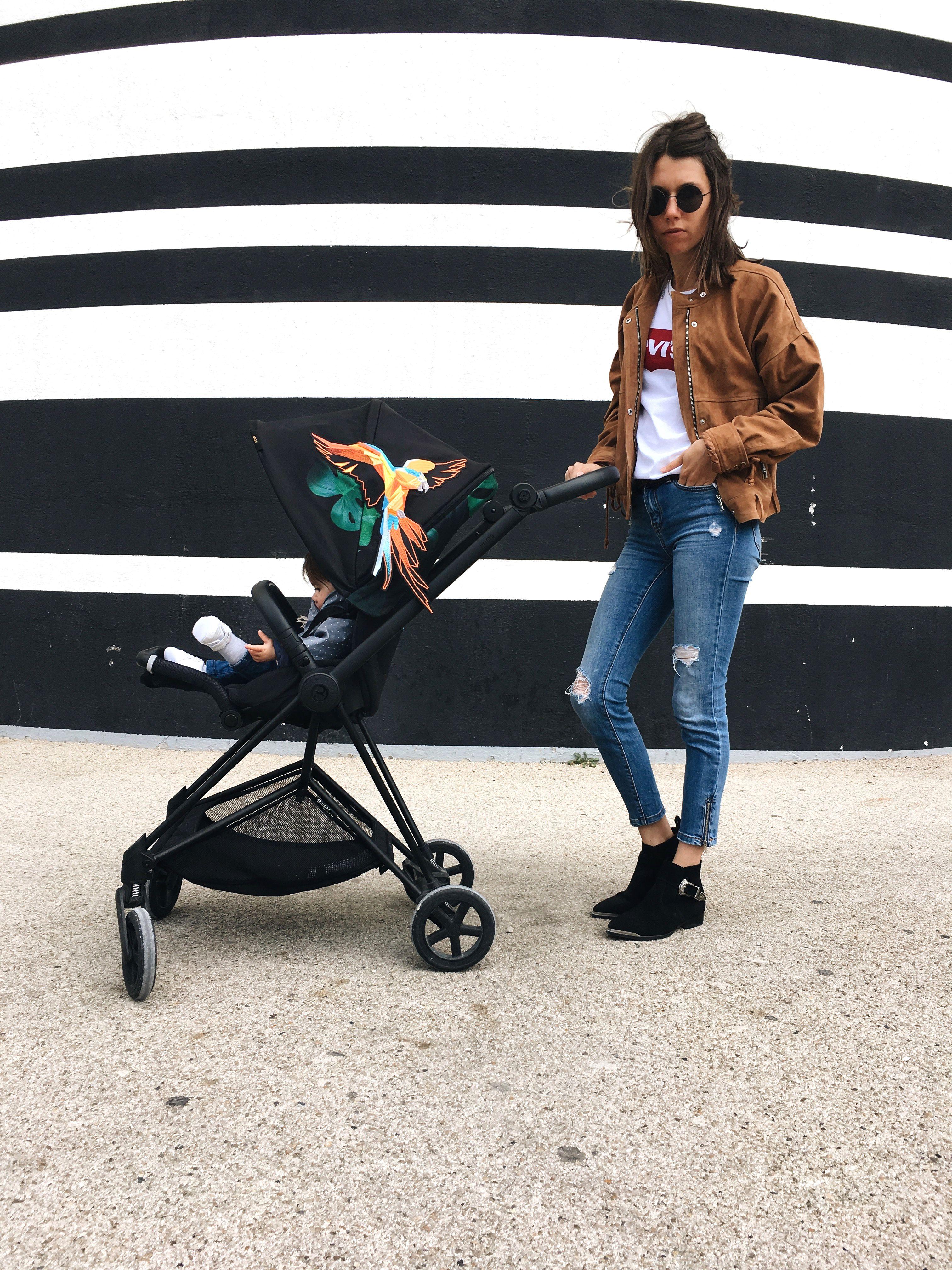escolha do carrinho de bebê