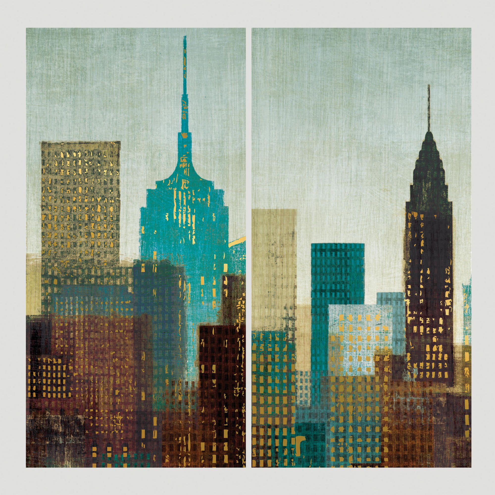 Skyline Panels Wall Decals Wall paneling, Decal wall art