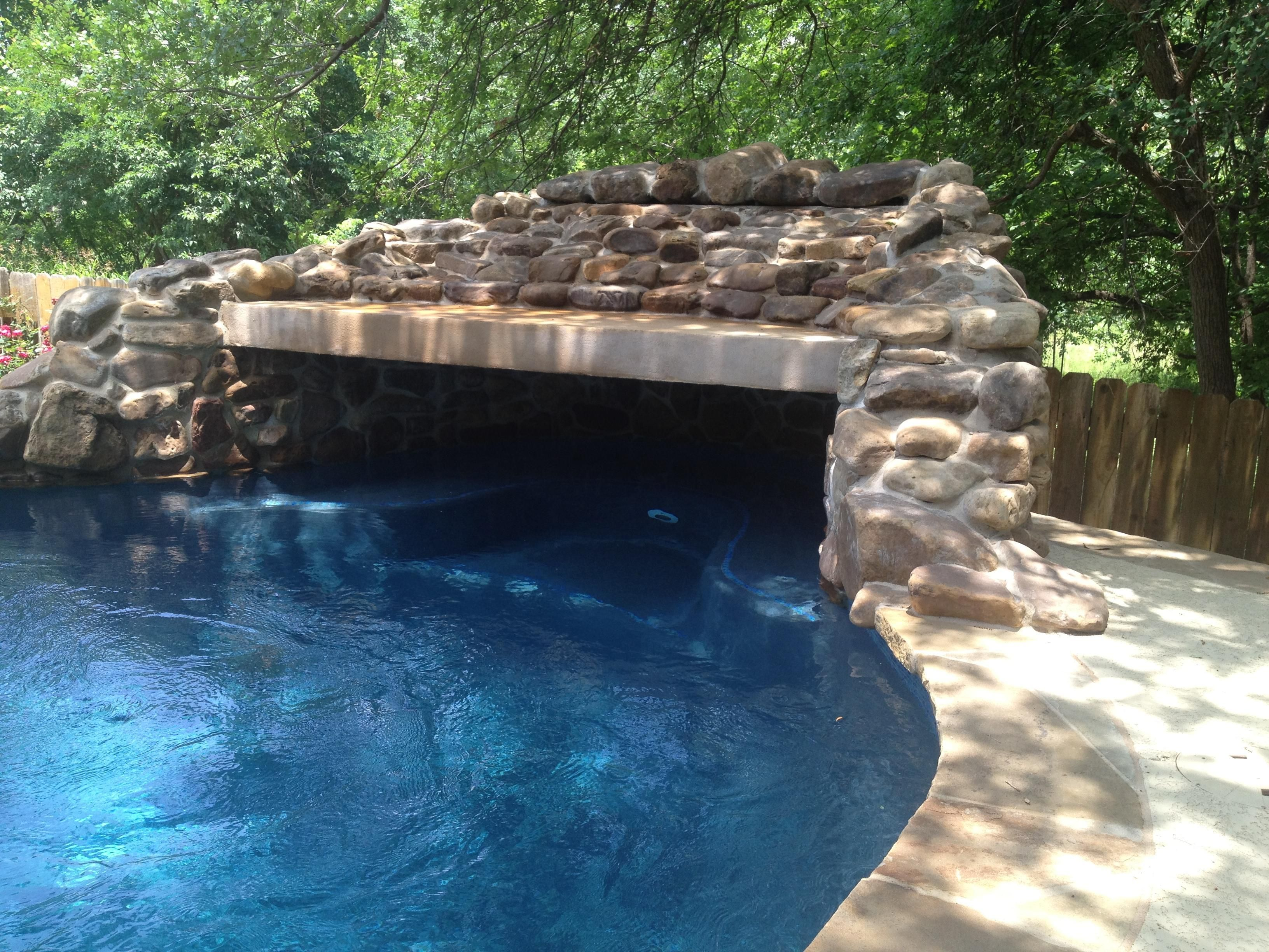 Grotto features new wave pools austin extravagant home for Pool design austin