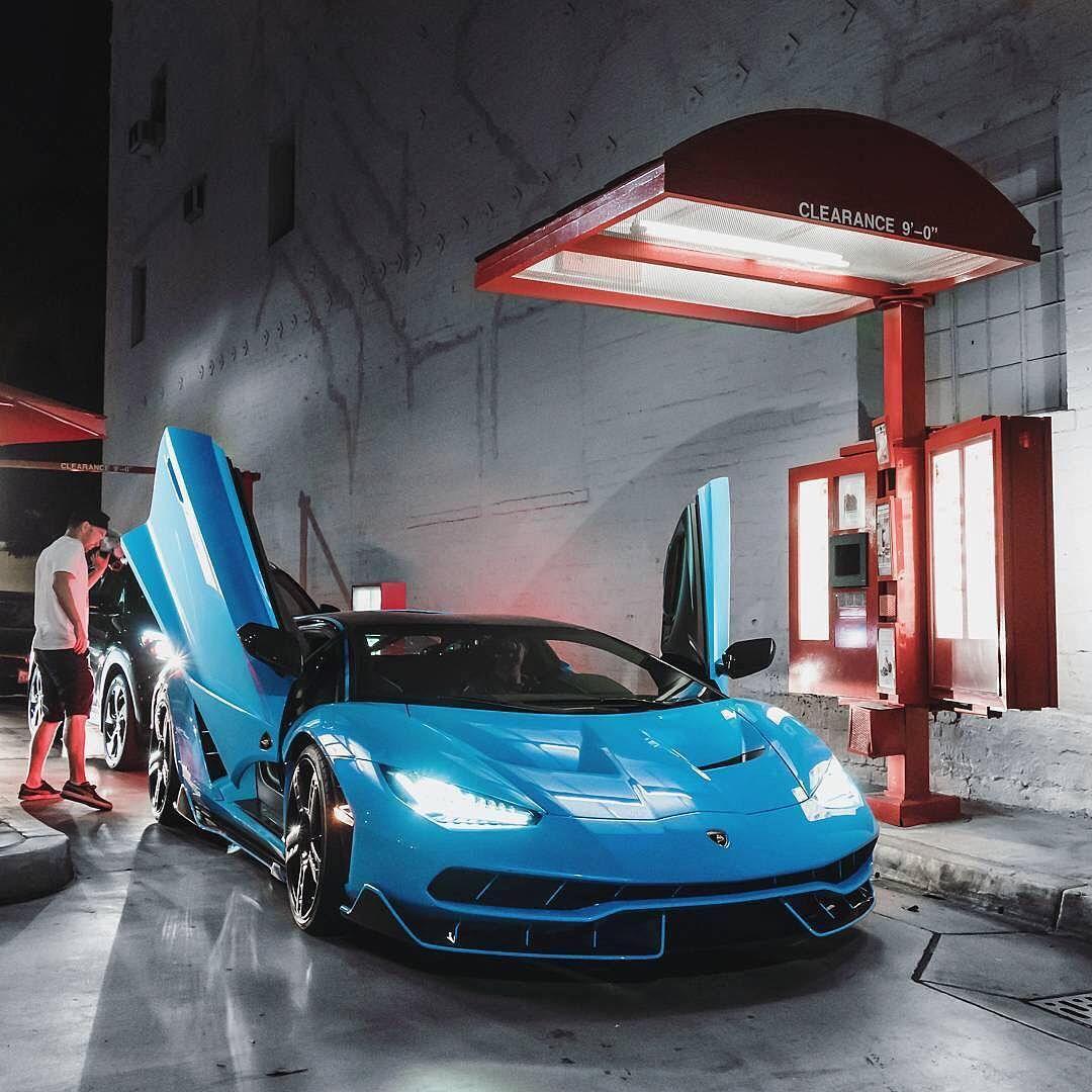 Blue Cepheus Centenario Photo By Adam Bornstein Blacklist Lamborghini Centenario Bluecepheus Lamborghini Super Cars Car