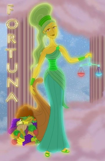 Fortuna Disney Hercules Disney Art Greek Roman Mythology