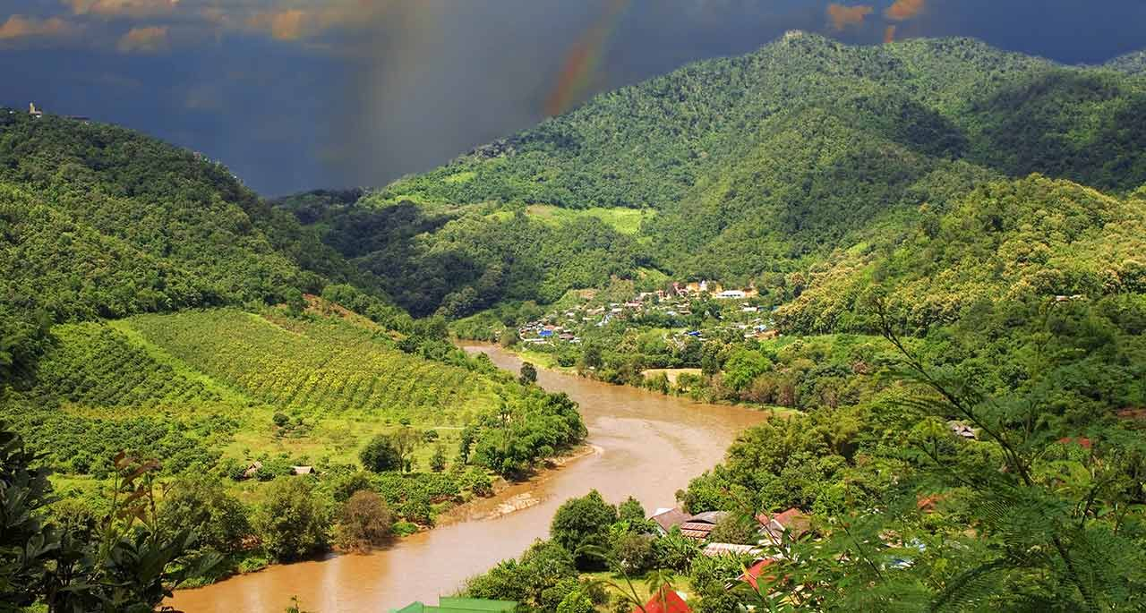Golden Triangle Thailand Laos Myanmar Thailand Outdoor Places Ive Been