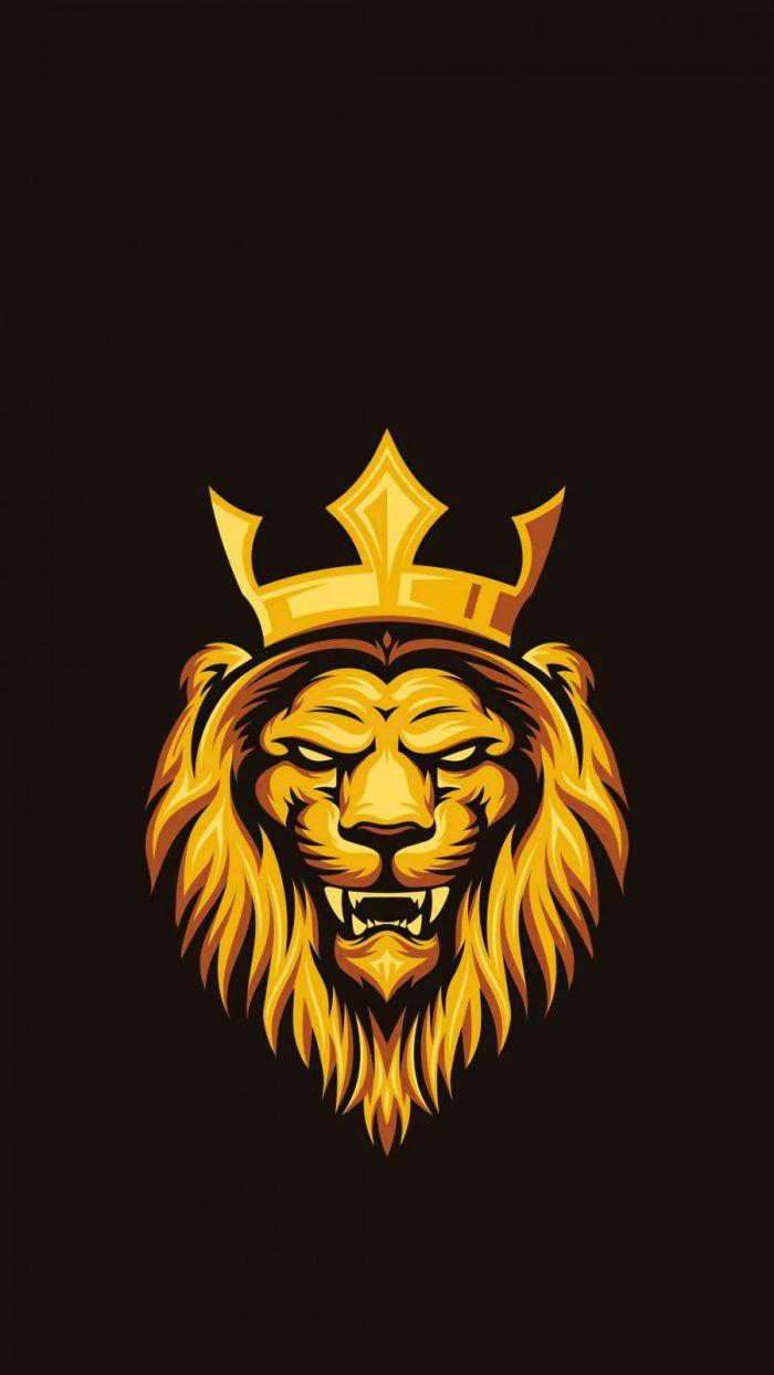 Lion King Minimal - iPhone Wallpapers