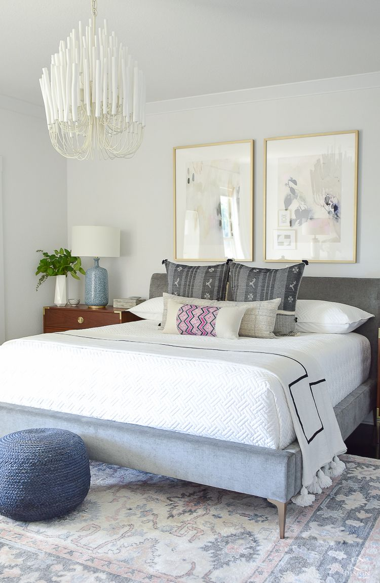 One Room Challenge - Master Bedroom Reveal | Blogger Home Projects ...