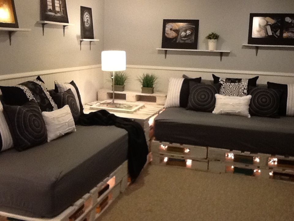 Pin By Joy Ihland On Cool Ideas To Make Diy Pallet Sofa Pallet Furniture Sofa Design